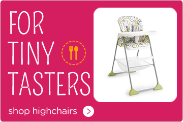 Joie For Tiny Tasters Highchairs