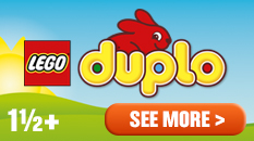 LEGO Duplo for ages one and a half and over