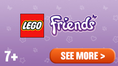 LEGO friends for ages seven plus