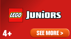 LEGO Juniors ages four plus