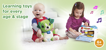 Learnig toys for every age and stage