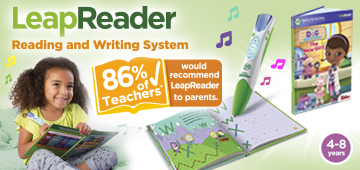 Leapreader reading and writing system
