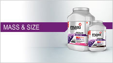 Maxinutrition mass and size
