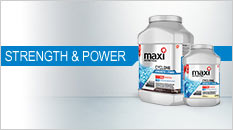 Maxinutrition strength and power