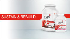 Maxinutrition sustain and rebuild