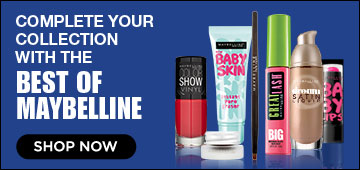 Complete your collection with the Best of Maybelline