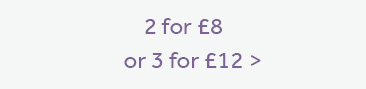 2 for £8 or 3 for £12