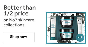 Better than half price on number seven skincare collections