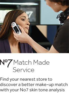 No7 match made service. Find your nearest store to discover a better make up match
