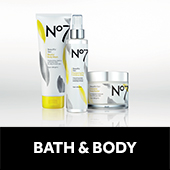 Number seven bath and body