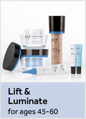 Number 7 Lift and Luminate. For ages 45 to 60