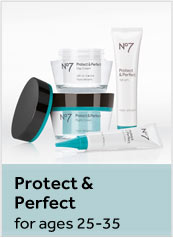 Number 7 Protect and Perfect. For ages 25 to 35