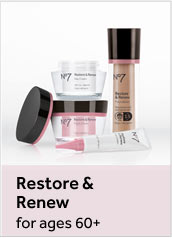 Number 7 Restore and Renew. For ages 60 plus
