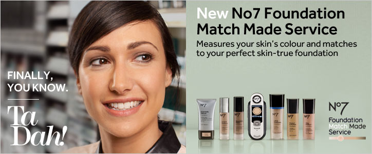 New Number 7 Foundation Match Made Service