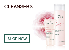 Nuxe cleansers