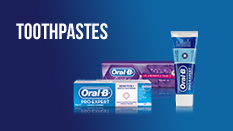 Oral-B Toothpastes