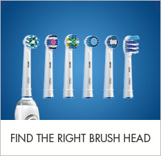 Find the right toothbrush head