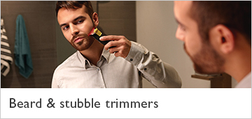 Philips beard and stubble trimmers