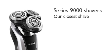 Philips series 9000 shavers