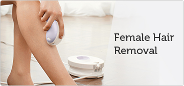 Remington female hair removal