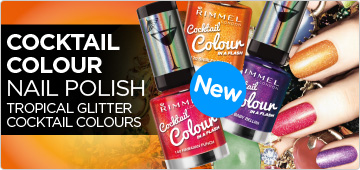 Rimmel London Cocktail Colour in a Flash Nail Polish