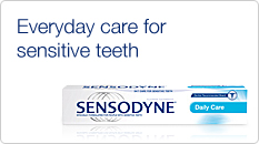 Everyday care for sensitive teeth