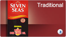 Seven Seas. Cod Liver Oil.Traditional