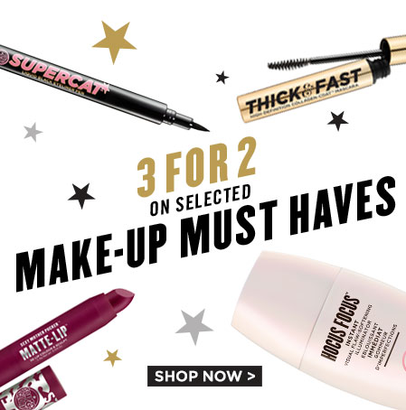 3 for 2 on selected Soap and Glory