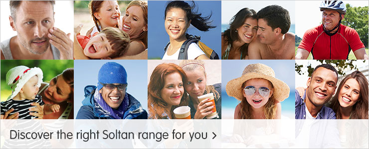 Discover the right Soltan range for you?