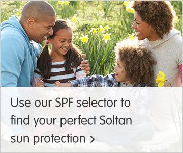 Use our SPF selector to find your perfect Soltan Sun Protection?