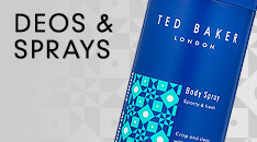 Ted Baker Deodorants & Sprays