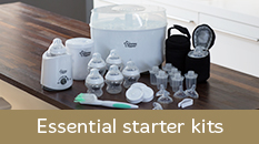Tommee Tippee Essential starter kits