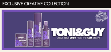 toni and guy exclusive creative collection