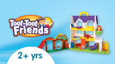 Vtech Toot-Toot friends 2 plus years