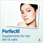 Perfectil. Supplements for hair, skin and nails
