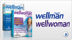 Vitabiotics Wellman and Wellwoman tablets