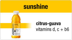 Vitamin Water Sunshine