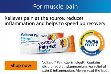Voltarol for muscle pain