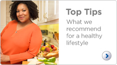 Top tips for a healthy lifestyle