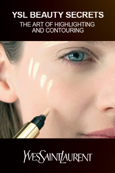 YSL Beauty Secrets: The art of highlighting and contouring