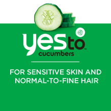 Yes to cucumbers - for sensative skin and notmal to fine hair