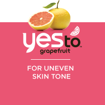 Yes to grapefruit - for uneven skin tone