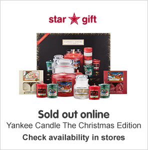 Yankee Candle star gift sold out online