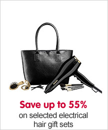 Better than half price on selected hair gift sets