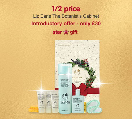 Introductory Liz Earle The Botonist Star Gift