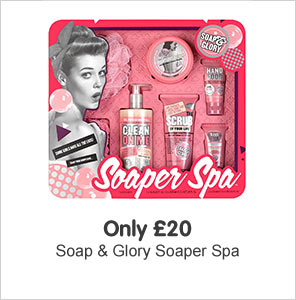 Only £20 Soap and Glory Soaper Spa