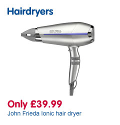 Only £39.99 John Frieda Ionic hair dryer