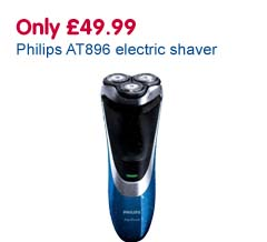 Only £49.99 Philips AT896 electric shaver