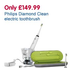 Only £149.99 Philips Diamond Clean electric toothbrush