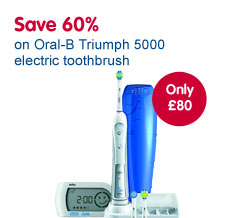 Oral-B 5000 electric toothbrush